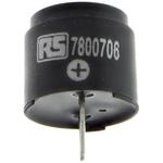 RS PRO 15V dc, PCB Mount Magnetic Buzzer, 85dB Continuous