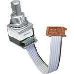 Grayhill 5V dc Optical Encoder with a 6.35 mm Flat Shaft, Surface Mount, Stripped Cable