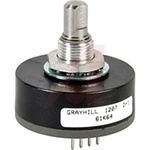 Grayhill 5V dc 64 Pulse Optical Encoder with a 6.32 mm Flat Shaft, Surface Mount, Pin