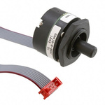 Grayhill 5V dc Optical Encoder with a 6.35 mm Flat Shaft, Panel Mount, Connector