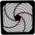 Filter, Fan; Foam Filter Media; 4-1/2 in. Tube Axial Fans; Plastic