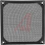 Filter; 06 Series; 4-1/2 in. Fan; Aluminum; Black; 4.68 in. H x 0.175 in. W