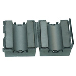 Fair-Rite Openable Ferrite Sleeve, 23.7 x 11.7 x 39.4mm, For EMI Suppression, Apertures: 1, Diameter 10.15mm