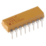 Bourns Isolated Resistor Array 2.2kΩ ±2% 8 Resistors, 2.25W Total, DIP package 4100R Through Hole