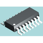 BI Technologies, 628A 150Ω ±2% Isolated SMT Resistor Array, 8 Resistors, 1.28W total, SOIC, Standard SMT