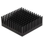Heatsink, Universal Square Alu, 7.2K/W, 45.72 x 44.58 x 16.51mm, Clip