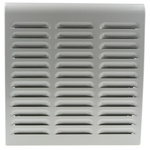 Green, Grey Vent Grille, 300 x 60 x 315mm