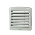 Grey Vent Grille, 316 x 18 x 316mm