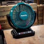 Makita CF Fan 180mm blade diameter 3 speed 12 V