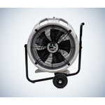 ebm-papst EC Aura Floor, Heavy Duty Fan 7250m³/h 115 V ac with plug: 110 V BS4343/IEC60309