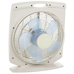 UNELVENT Meteor Floor, Heavy Duty Fan 1.25 m³/h, 1.55 m³/h, 2.184 m³/h 300mm blade diameter 3 speed 230 V ac with plug: