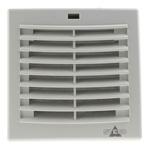 STEGO Filter Fan120 x 120mm Face Dimensions, 13m³/h, AC Operation, 230 V ac, IP54