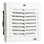 STEGO Filter Fan120 x 120mm Face Dimensions, 19m³/h, AC Operation, 115 V ac, IP54