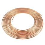 RS PRO 10m Long 120 bar Copper Tubing, -50 to +200°C