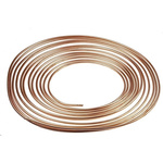 RS PRO 10m Long 138 bar Copper Tubing, -50 to +200°C