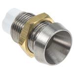 LED Screw In Panel Mount Indicator Bulb Holder, 5 mm Lamp Size, 8mm Panel Hole Diameter