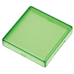 Panel Mount Indicator Lens Square Style, Green, 29mm Long