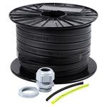 RS PRO 10W/m Trace Heating Kit Self Regulating, 110 V, 50m