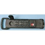 Type E - French 4 Gang Trailing Socket, 250 V ac, No