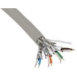 Belden Grey LSZH Cat7 Cable S/FTP, 500m Unterminated/Unterminated