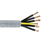 Lapp ÖLFLEX CLASSIC 110 SY 7 Core SY Control Cable 1 mm², 50m, Screened