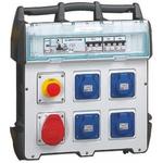 BS4343/EN60309 110V-16A, Type E - French 5 Gang Worksite Power Distribution Unit, 415 V