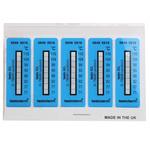 Testo Temperature Sensitive Label, 71°C to 110°C, 2 Levels