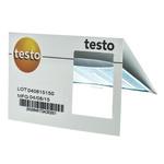 Testo Temperature Sensitive Label, 116°C to 154°C, 2 Levels