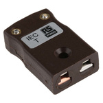 RS PRO IEC Thermocouple Connector for use with Type T Thermocouple Type T, Miniature