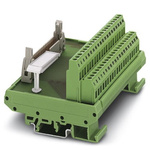 Phoenix Contact, 34 Pole Flat Ribbon Cable Connector, Male Interface Module, DIN Rail Mount