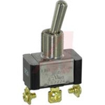 SWITCH; TOGGLE; 1 POLE; 2 POSITION; SCREW TERMINAL; STANDARD LEVER