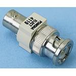 50Ω RF Attenuator Straight BNC Connector BNC Plug to BNC Socket, Operating Frequency 500MHz