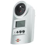 brennenstuhl PM231 1 Phase LCD Wattmeter-energy meter for plug mounting