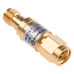 50Ω RF Attenuator SMA Plug to Socket 6dB, Operating Frequency DC → 18GHz
