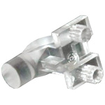 515-1011F Dialight, PCB Mounted Right Angle LED Light Pipe, Clear Round Lens