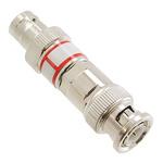 50Ω RF Attenuator Straight BNC Connector BNC Plug to BNC Socket 10dB, Operating Frequency 0 → 2GHz