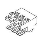Molex Male 3 Way Battery Connector, Surface Mount, 1A, 12 V dc