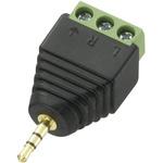 CIE, CLB-JL Cable Mount Phone Plug Adapter Jack Plug, 3Pole 5A
