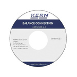 Kern SCD-4.0 Balance Connection Software, For Use With: Windows 10, Windows 7, Windows 8, Windows 8.1, Windows Vista,