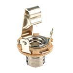 Switchcraft, Little-Jax 6.35 mm Panel Mount Mono Jack Socket, 2Pole