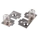Keystone Button & Coil Spring AAA, N Battery Contact
