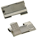 Keystone Button & Leaf Spring A, AA Battery Contact