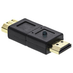 RS PRO AV Adapter, Male HDMI to Female HDMI