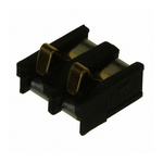 AVX, 9155 Male 2 Way Battery Contacts, Right Angle, Surface Mount, 3A