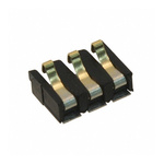 AVX, 9155 Male 3 Way Battery Contacts, Right Angle, Surface Mount, 3A