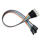 4128, 200mm Jumper Wire Breadboard Jumper Wire in Black, Blue, Red, White, Yellow