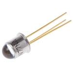BPW77NA Vishay, ±10 ° IR + Visible Light Phototransistor, Through Hole 3-Pin TO-18 package