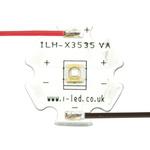 ILH-XC01-S390-SC211-WIR200 Intelligent LED Solutions, C3535 1 Powerstar Series UV LED, 390nm 400mW 125 °, 4-Pin Surface