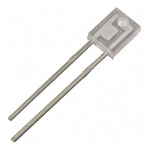OP550A Optek, Visible Light Phototransistor, Through Hole 2-Pin Side-Looking package