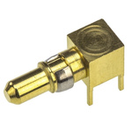 TE Connectivity DIN 41612 , Right Angle , Male Gold, Palladium , Brass , DIN Connector Contact